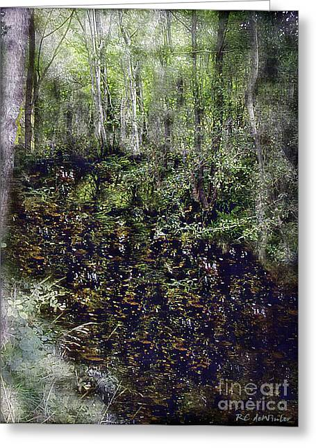 Jack Kell's Woods Greeting Card by RC DeWinter