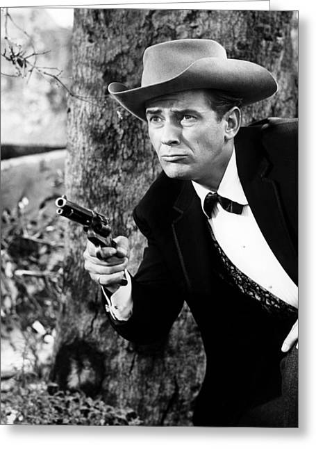 Jack Kelly In Maverick  Greeting Card by Silver Screen