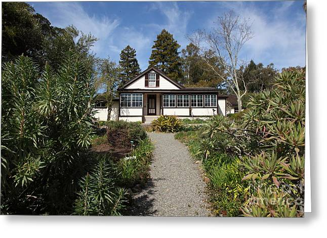 Jack London Cottage 5d22120 Greeting Card by Wingsdomain Art and Photography