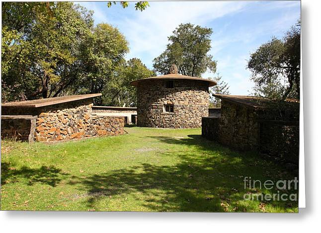 Jack London Ranch Pig Palace 5d22150 Greeting Card by Wingsdomain Art and Photography