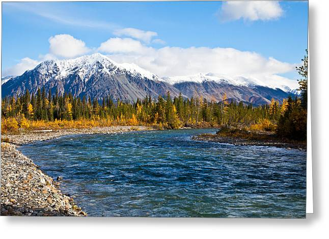 Jack River Alaska Greeting Card