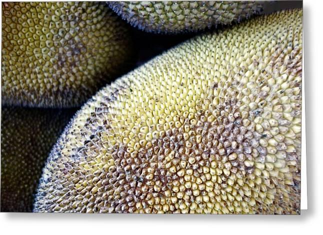 Jackfruit Greeting Card by Ann Powell
