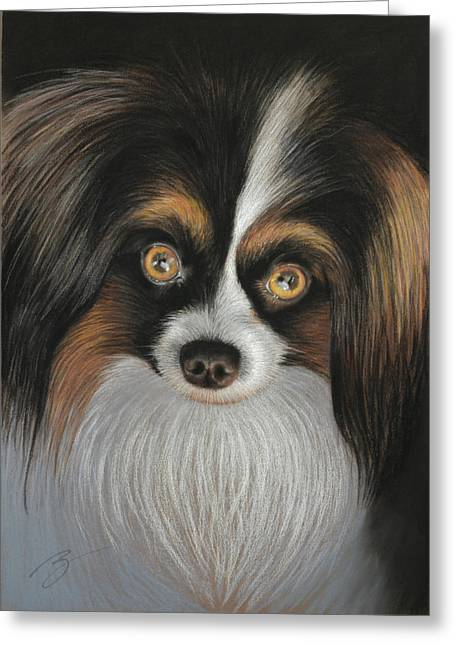 Jackie - Pastel Greeting Card