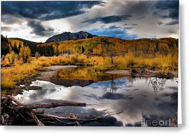 Greeting Card featuring the photograph Jack's Pond by Steven Reed