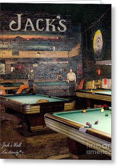 Jack's Wall Greeting Card
