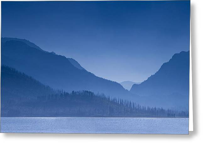 Jackson Lake In The Tetons Greeting Card by Andrew Soundarajan