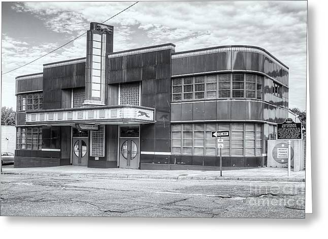 Jackson Mississippi Greyhound Bus Station II Greeting Card by Clarence Holmes