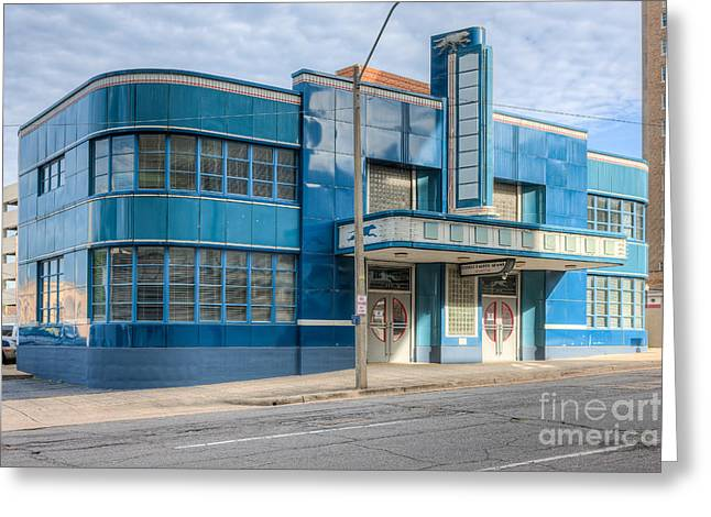 Jackson Mississippi Greyhound Bus Station IIi Greeting Card by Clarence Holmes