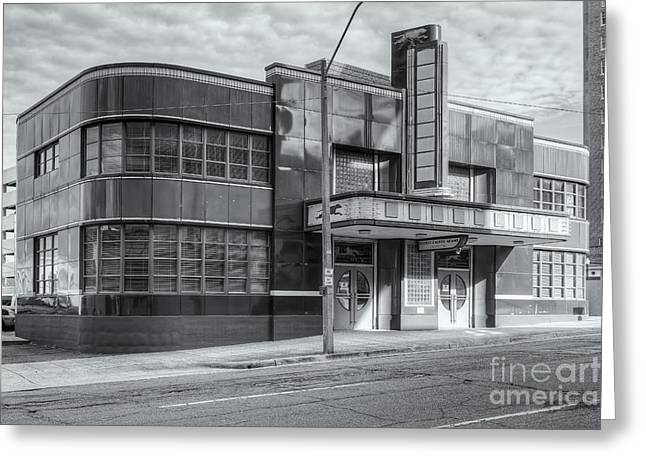 Jackson Mississippi Greyhound Bus Station Iv Greeting Card by Clarence Holmes