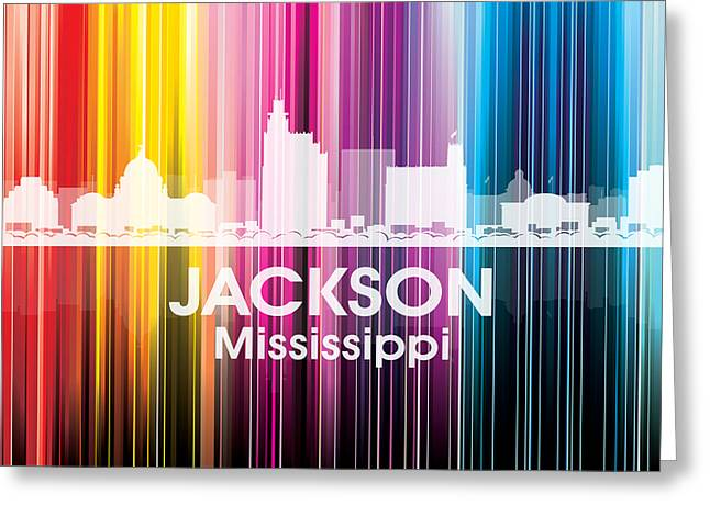 Jackson Ms 2 Greeting Card by Angelina Vick