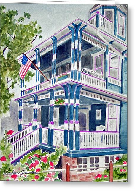 Jackson Street Inn Of Cape May Greeting Card