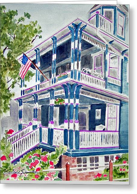 Jackson Street Inn Of Cape May Greeting Card