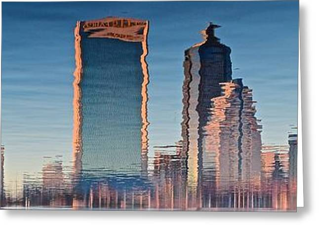 Jacksonville Abstract Panorama Greeting Card by Frozen in Time Fine Art Photography