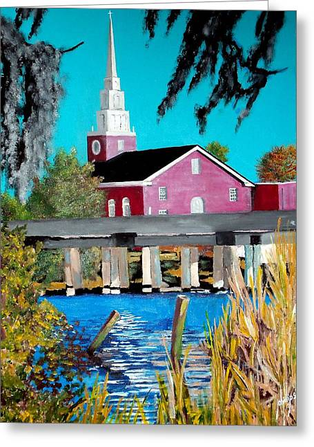 Jacksonville Nc A First Impression Greeting Card by Jim Phillips