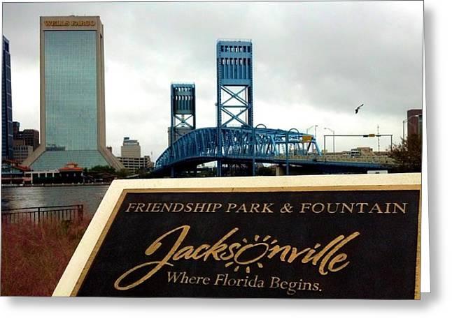Jacksonville Greeting Card