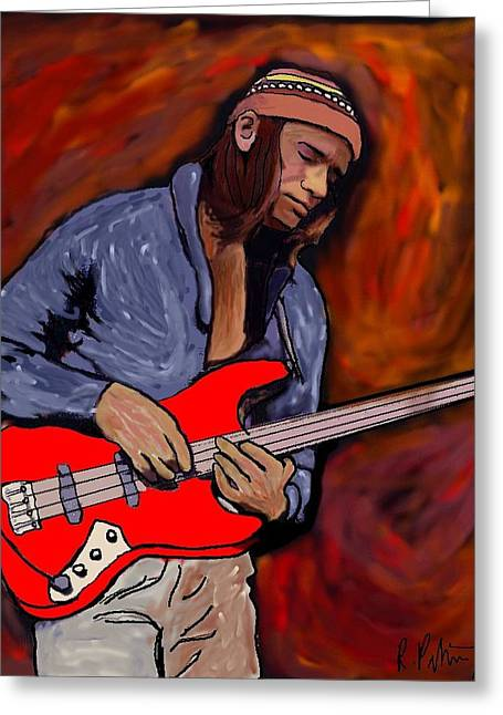 Jaco Greeting Card by Rob Peters