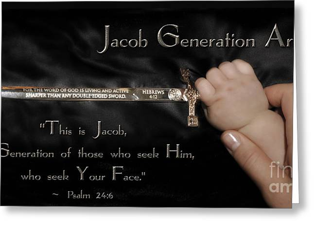 Jacob Generation Greeting Card