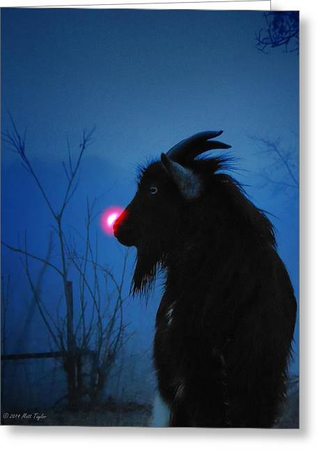 Jacob The Red Nosed Billy Greeting Card