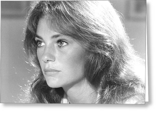 Jacqueline Bisset In The Deep  Greeting Card