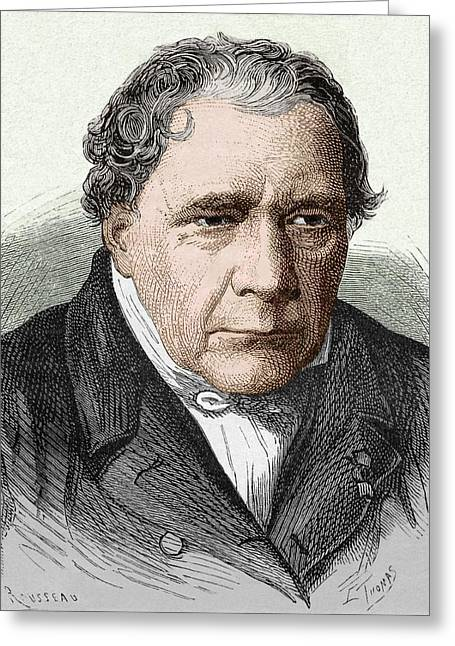 Jacques Babinet Greeting Card