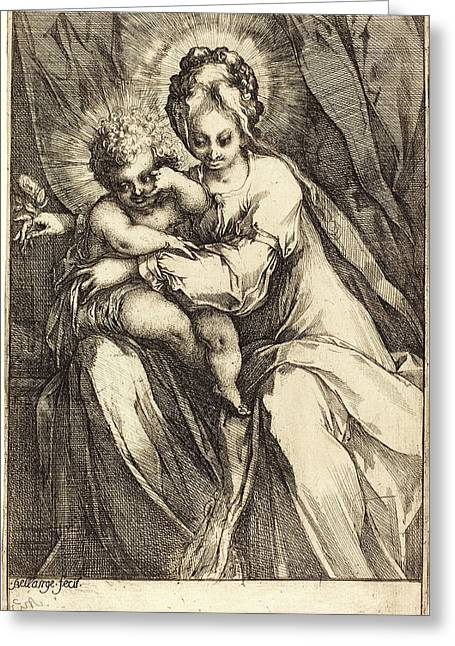 Jacques Bellange, French C. 1575-died 1616 Greeting Card by Litz Collection