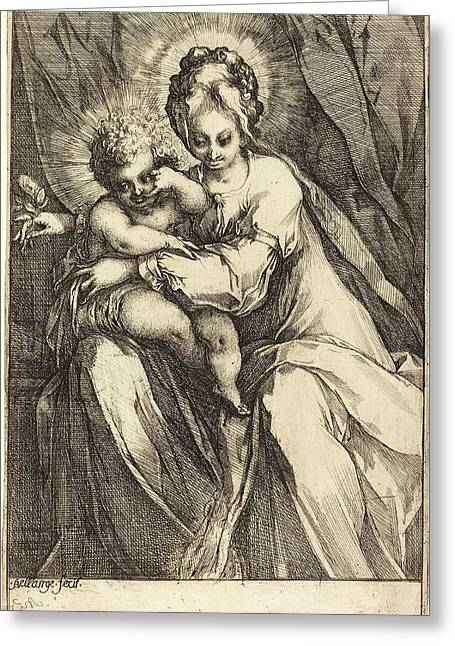 Jacques Bellange French, C. 1575 - Died 1616 Greeting Card by Quint Lox