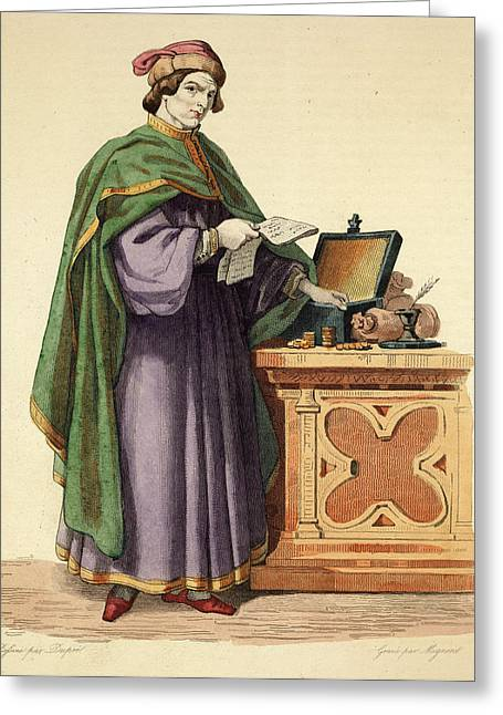Jacques Coeur  French Merchant Who Greeting Card