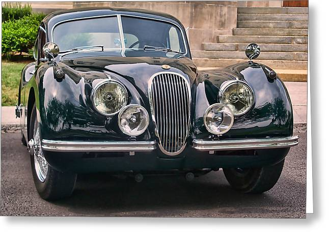 Greeting Card featuring the photograph Jaguar by Victor Montgomery