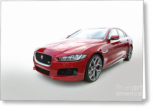 Jaguar Xe Greeting Card
