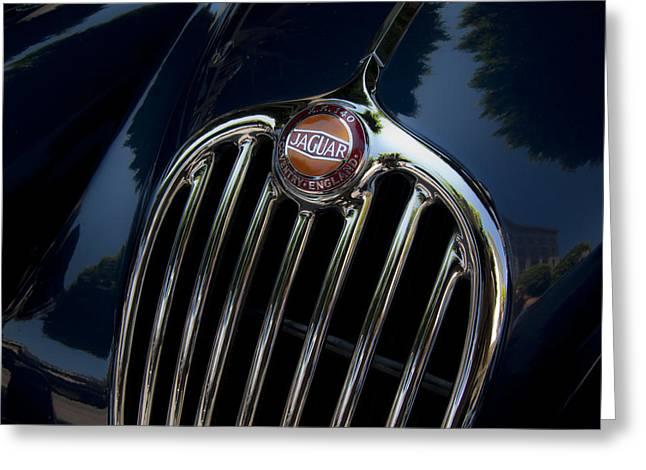 Jaguar Xk140 Greeting Card