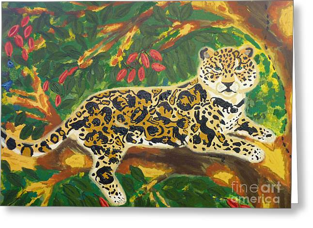 Jaguars In A Jaguar Greeting Card