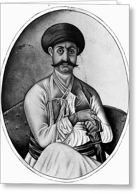 Jahandar Shah (1661-1713) Greeting Card by Granger