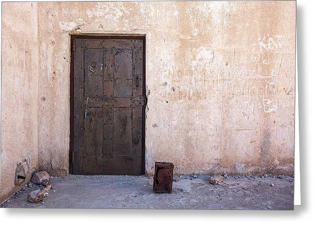Jail House Rocks Greeting Card by Peter Tellone