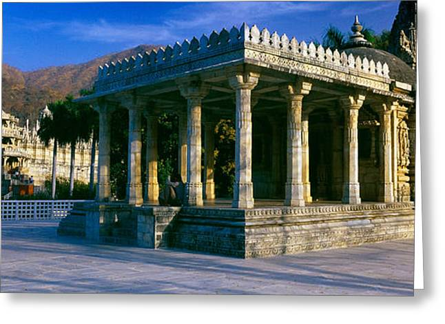 Jain Temple, Ranakpur, Pali District Greeting Card by Panoramic Images