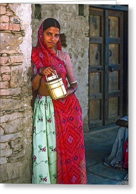 Jaisalmer Beauty Greeting Card