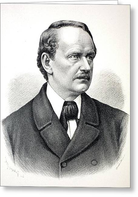 Jakob Mathias Schleiden Greeting Card