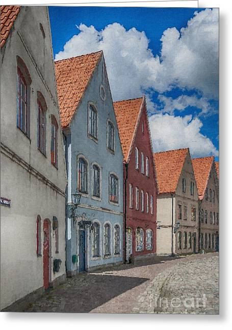 Jakriborg Digital Painting Greeting Card by Antony McAulay