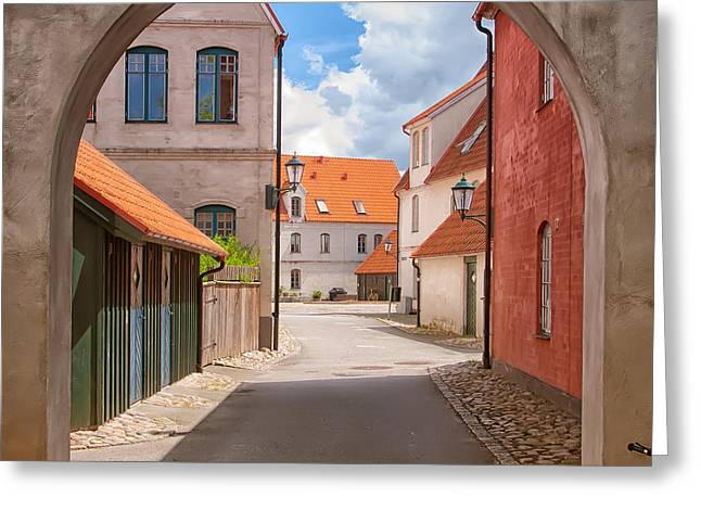 Jakriborg Sweden 64 Greeting Card by Antony McAulay