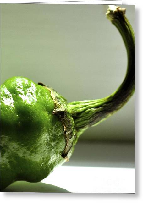 Jalapeno Pepper Greeting Card