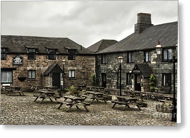 Jamaica Inn. Greeting Card by Linsey Williams