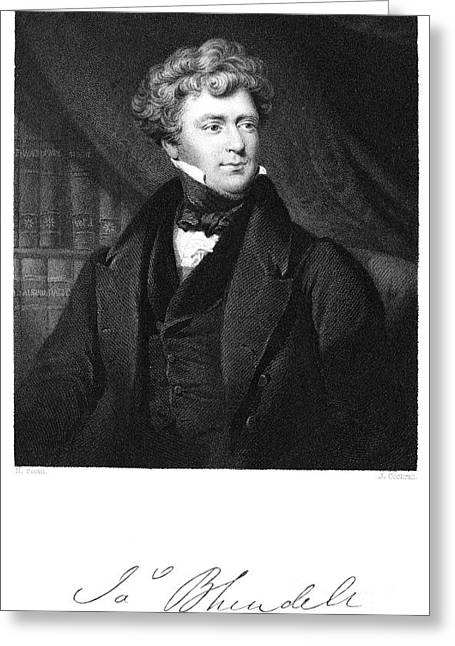 James Blundell (1790-1877) Greeting Card by Granger