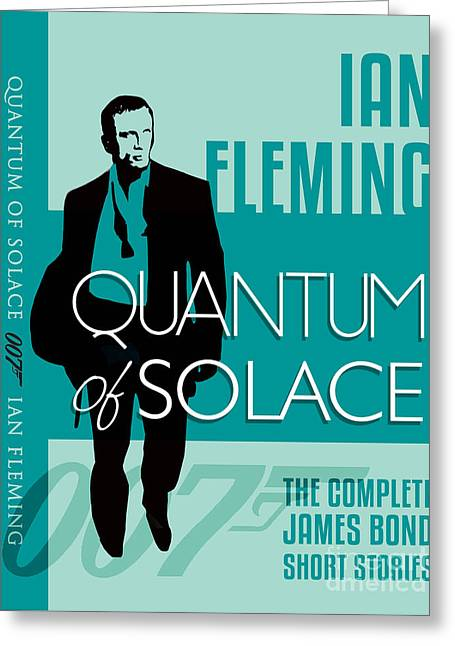 James Bond Book Cover Movie Poster Art 4 Greeting Card by Nishanth Gopinathan