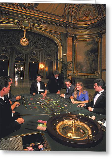 James Bond In Monte Carlo Greeting Card