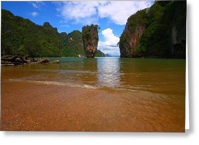 James Bond Island 2 Greeting Card by FireFlux Studios