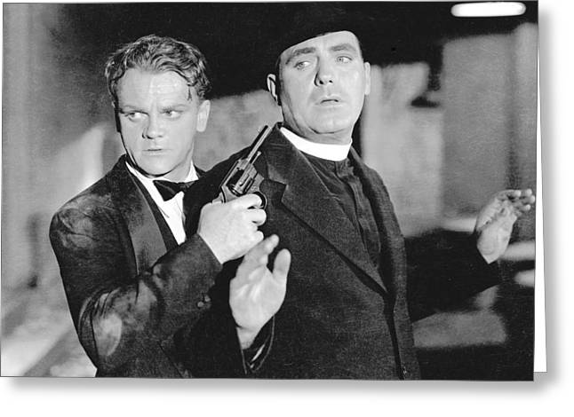 James Cagney In Angels With Dirty Faces  Greeting Card by Silver Screen