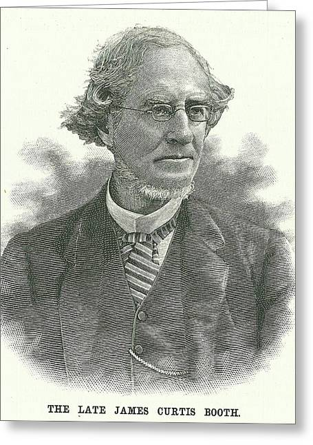 James Curtis Booth Greeting Card