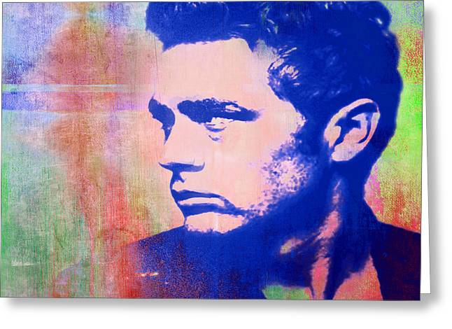 James Dean Greeting Card by Catherine Arnas
