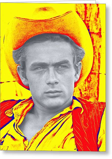 James Dean In Giant Greeting Card