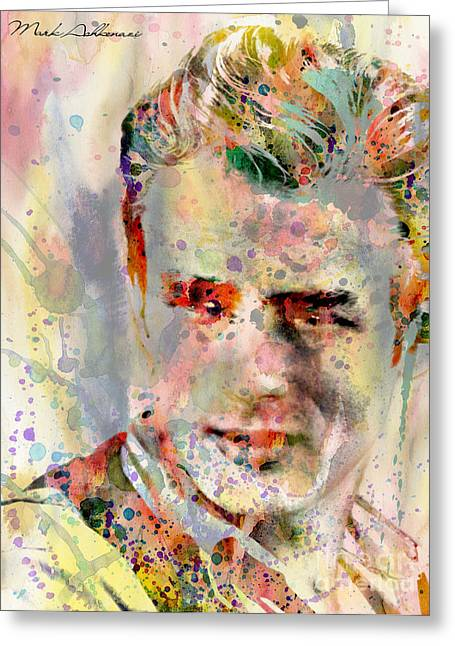 James Dean Greeting Card