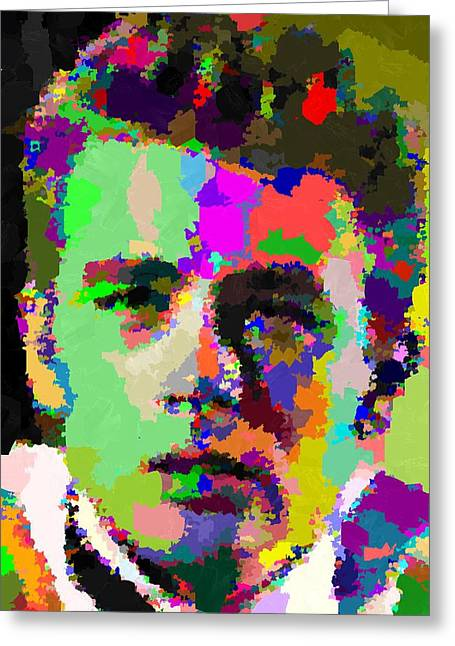 James Dean Portrait Greeting Card